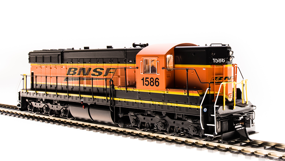 "Broadway Limited HO EMD SD9 ""BNSF"" #1587 - DCC + Sound"