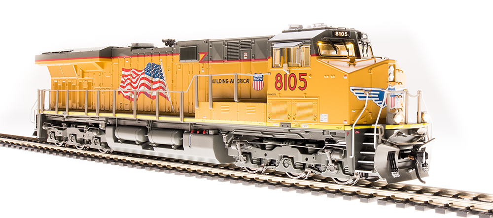 Broadway Limited HO GE ES44AC, UP 8109, (C45AH) - DCC + Sound