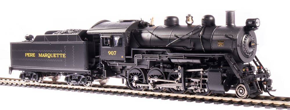 Broadway Limited HO 2-8-0 Consolidation, Pere Marquette #918, DCC+Sound