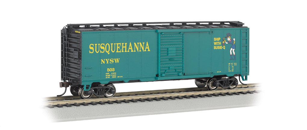 Bachmann HO 40 FT Box Car - NYSW (Suzy-Q)