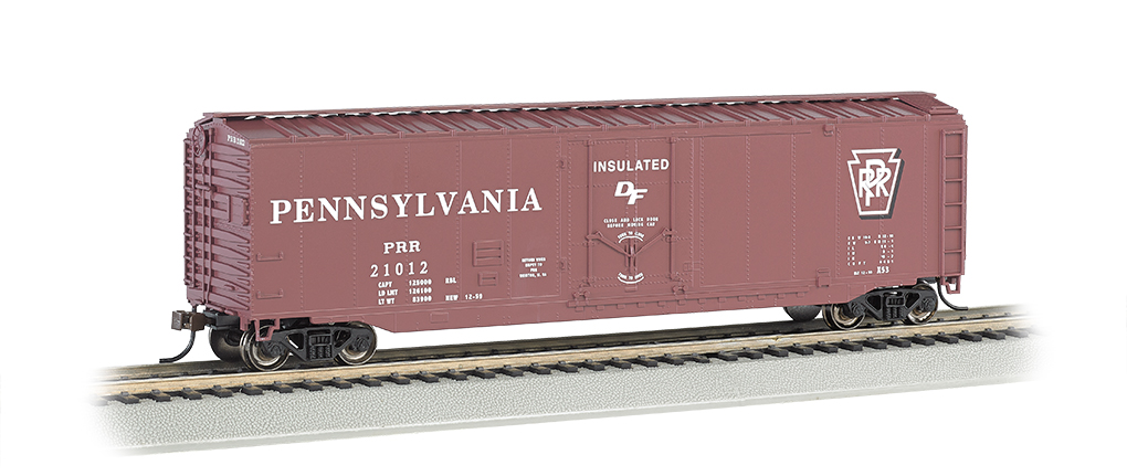 Bachmann HO 50 FT Plug Door Box Car - Pennsylvania