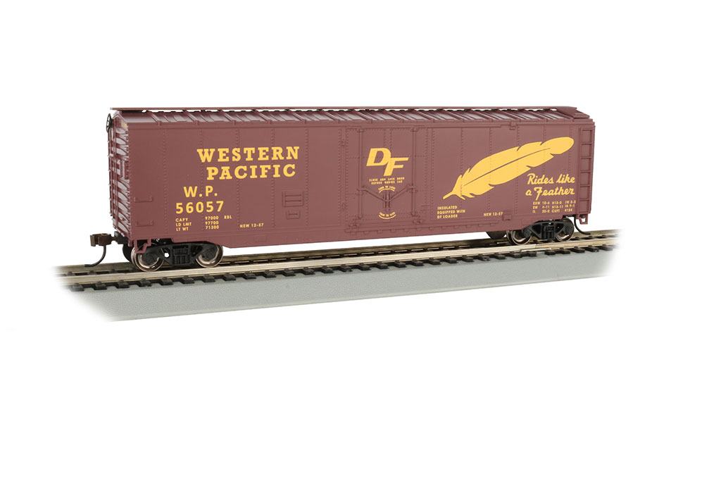 Bachmann HO 50 FT Plug Door Box Car - Western Pacific™