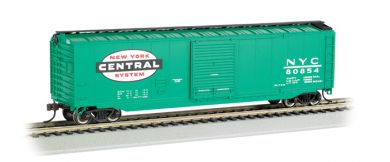 Bachmann HO 50 FT Sliding Door Box Car - New York Central