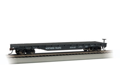 Bachmann HO 52 FT Flat Car - Northern Pacific