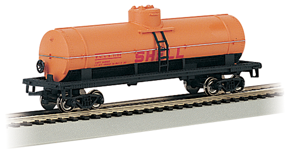 Bachmann HO 40 FT Single-Dome Tank Car - Shell