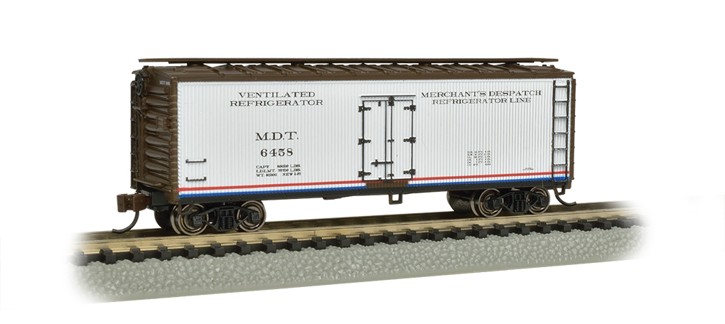 Bachmann N 40 FT Wood-side Refrigerated - Merchant's Despatch