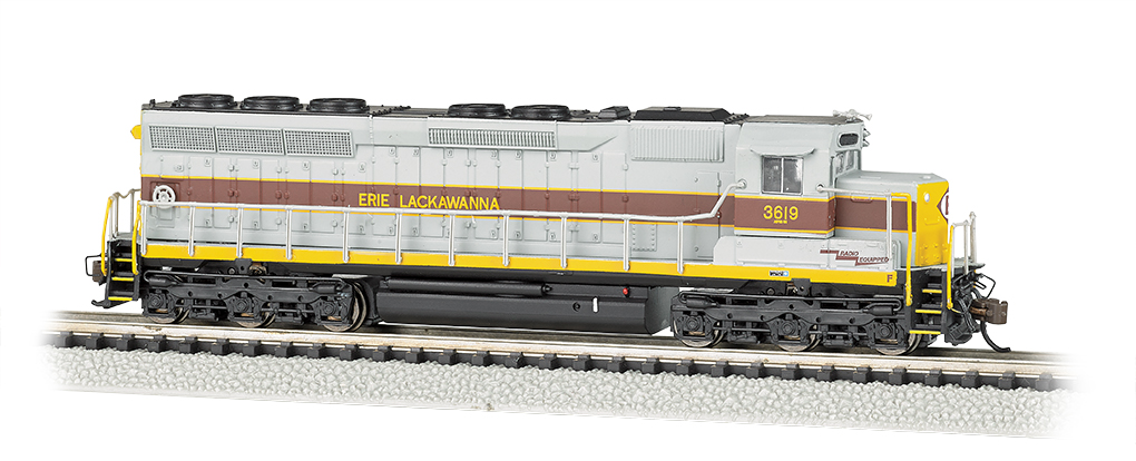 Bachmann N EMD SD45 - Erie Lackawanna #3619 - DCC + Sound