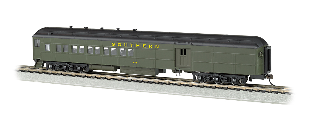 Bachmann HO 72 FT Heavyweight Combine Car - Southern #654