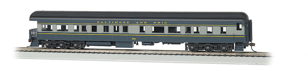 Bachmann HO 72 FT Heavyweight Observation Car - Baltimore & Ohio® #130
