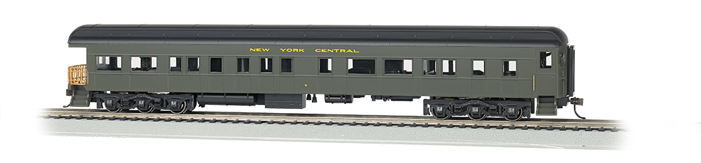 Bachmann HO 72 FT Heavyweight Observation Car - New York Central #9