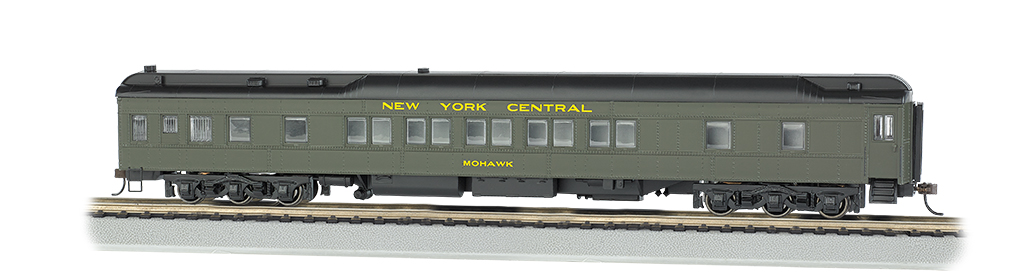 Bachmann HO 80 FT Heavyweight Pullman Car - New York Central