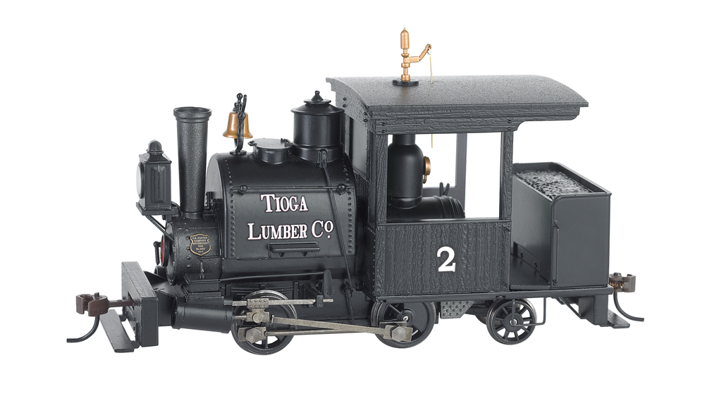 Bachmann On30 0-4-2 Porter - Tioga Lumber Co. #2 - DCC