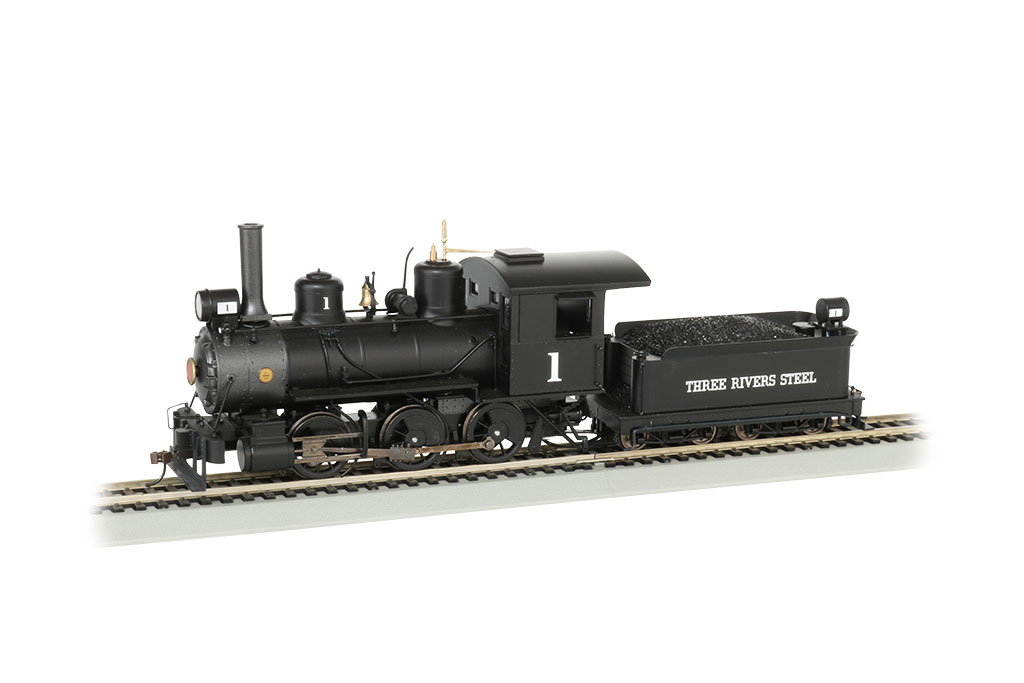 Bachmann On30 0-6-0 - Three Rivers Steel - DCC