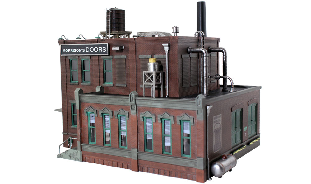 Woodland Scenics Morrison Door Factory - O Scale