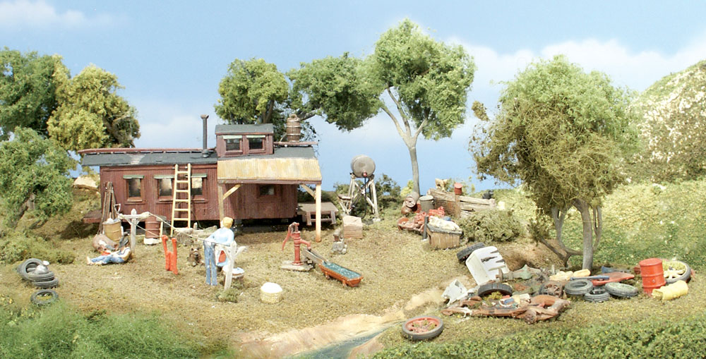 "Woodland Scenics ""Possum Hollow"" - HO Scale Kit"