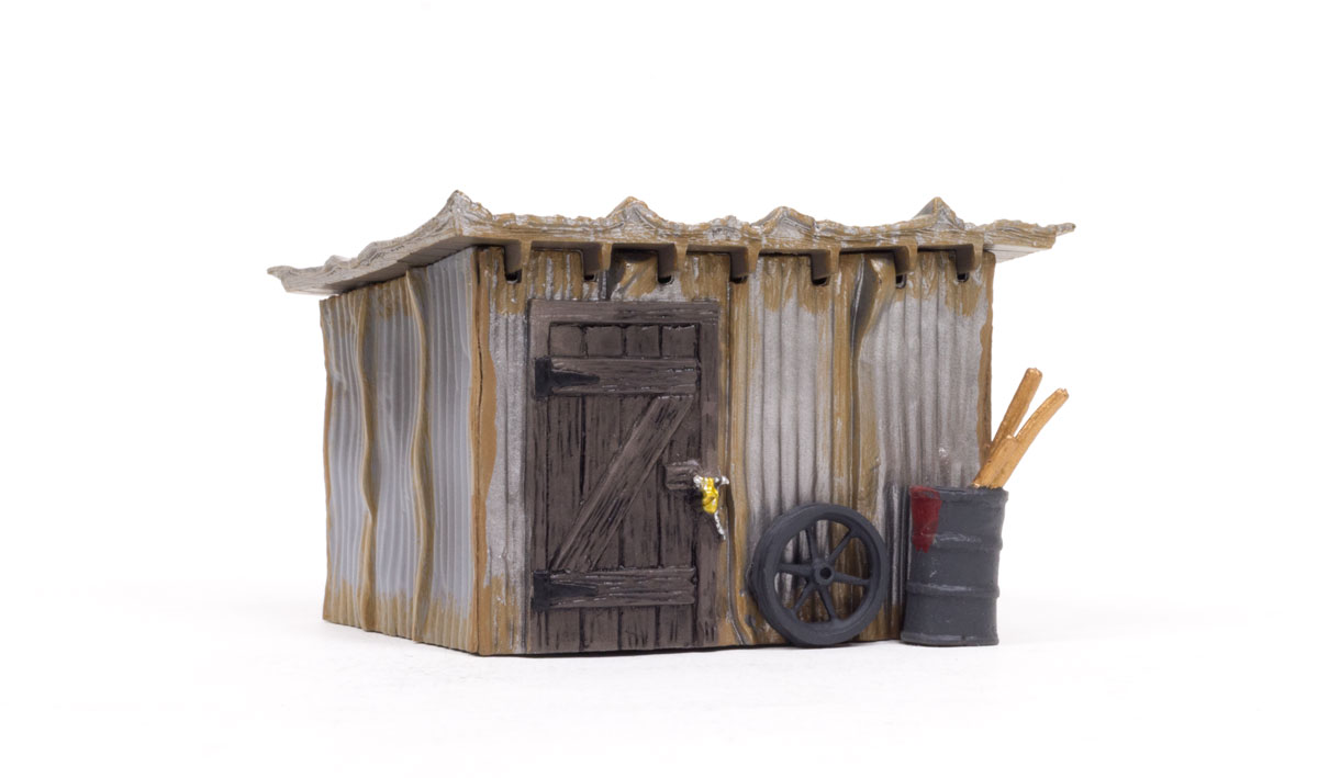 Woodland Scenics Tin Shack - O Scale