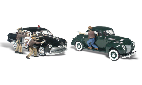 Woodland Scenics - Getaway Gangsters - HO Scale