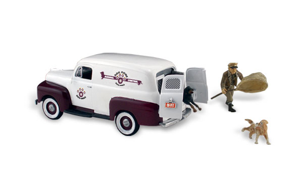 Woodland Scenics - Dog Gone Animal Control - HO Scale