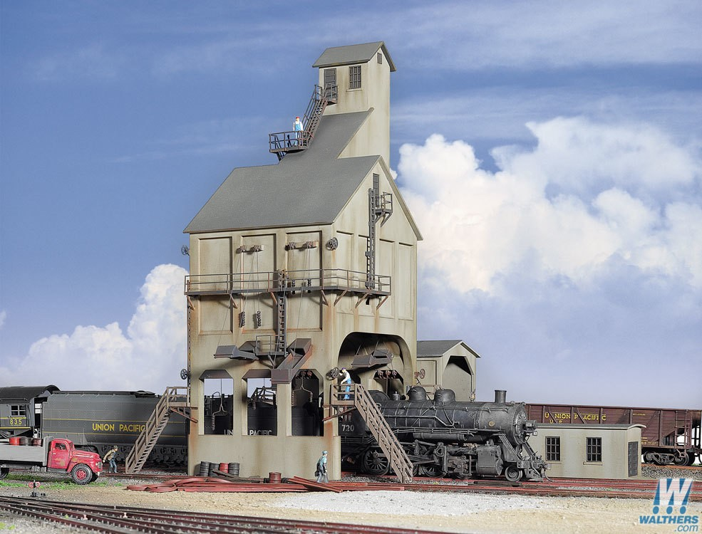 Walthers #933-2903 Modern Coaling Tower - HO Scale Kit