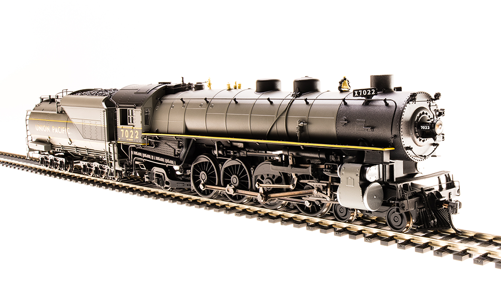 Broadway Limited HO - Mountain Class 4-8-2, UP #7022, DCC+Sound