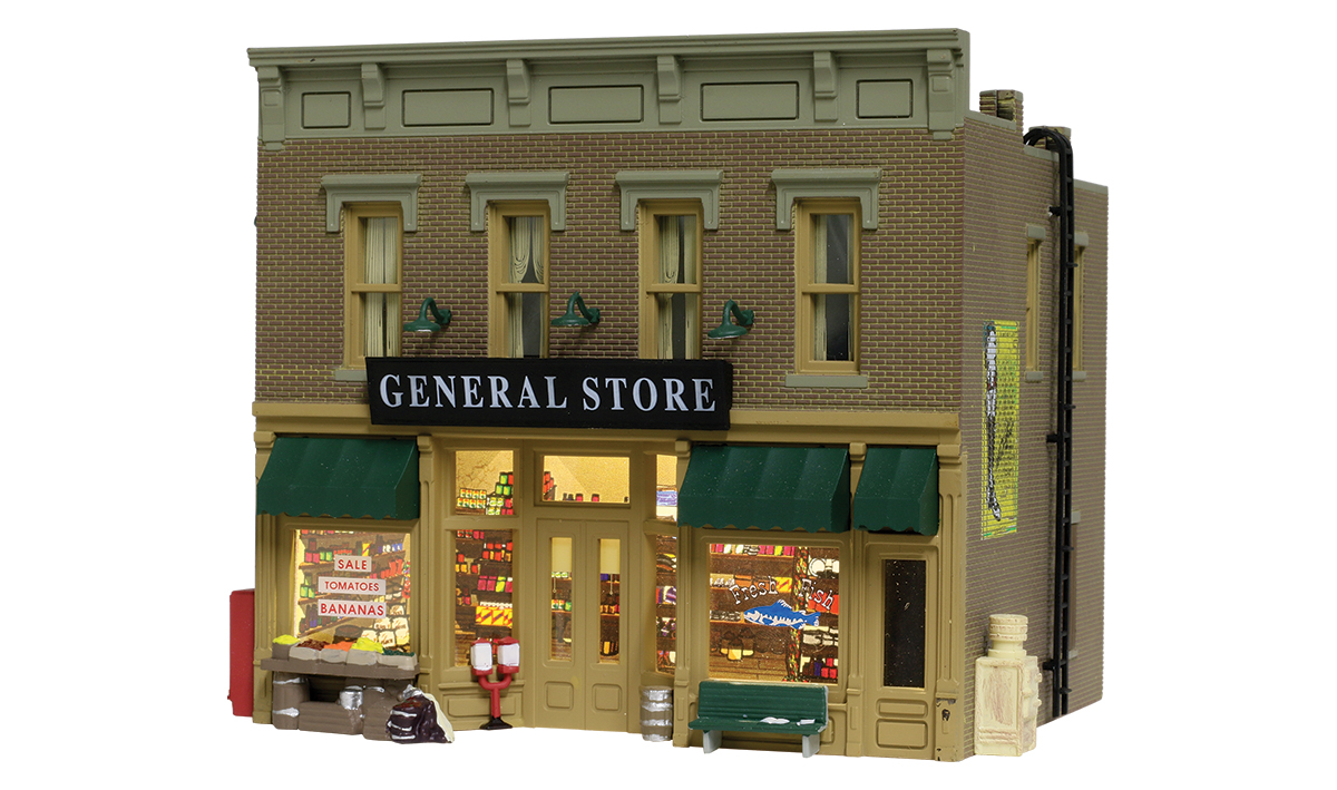 Woodland Scenics Lubener's General Store - HO Scale