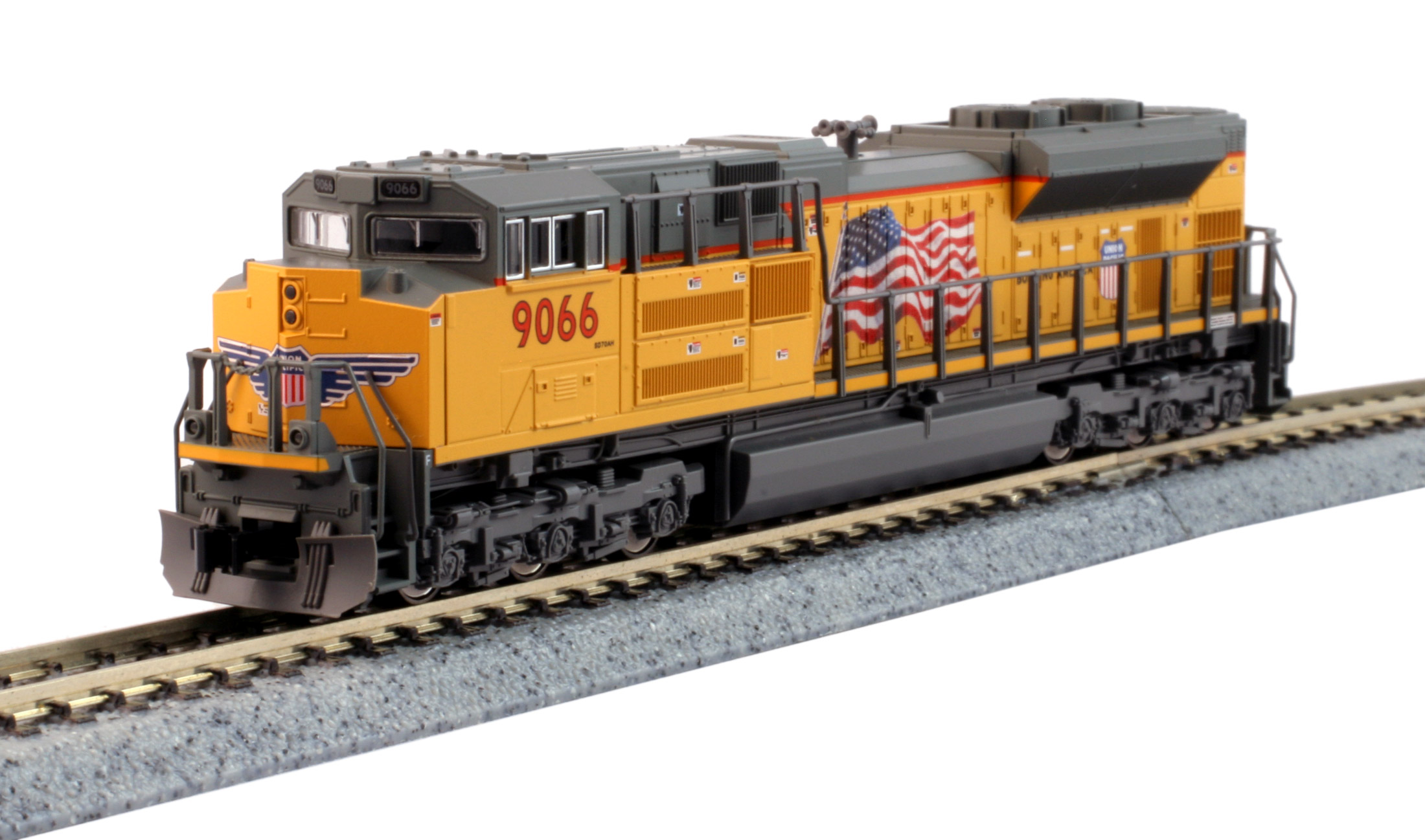 KATO N EMD SD70ACe - Union Pacific #9066