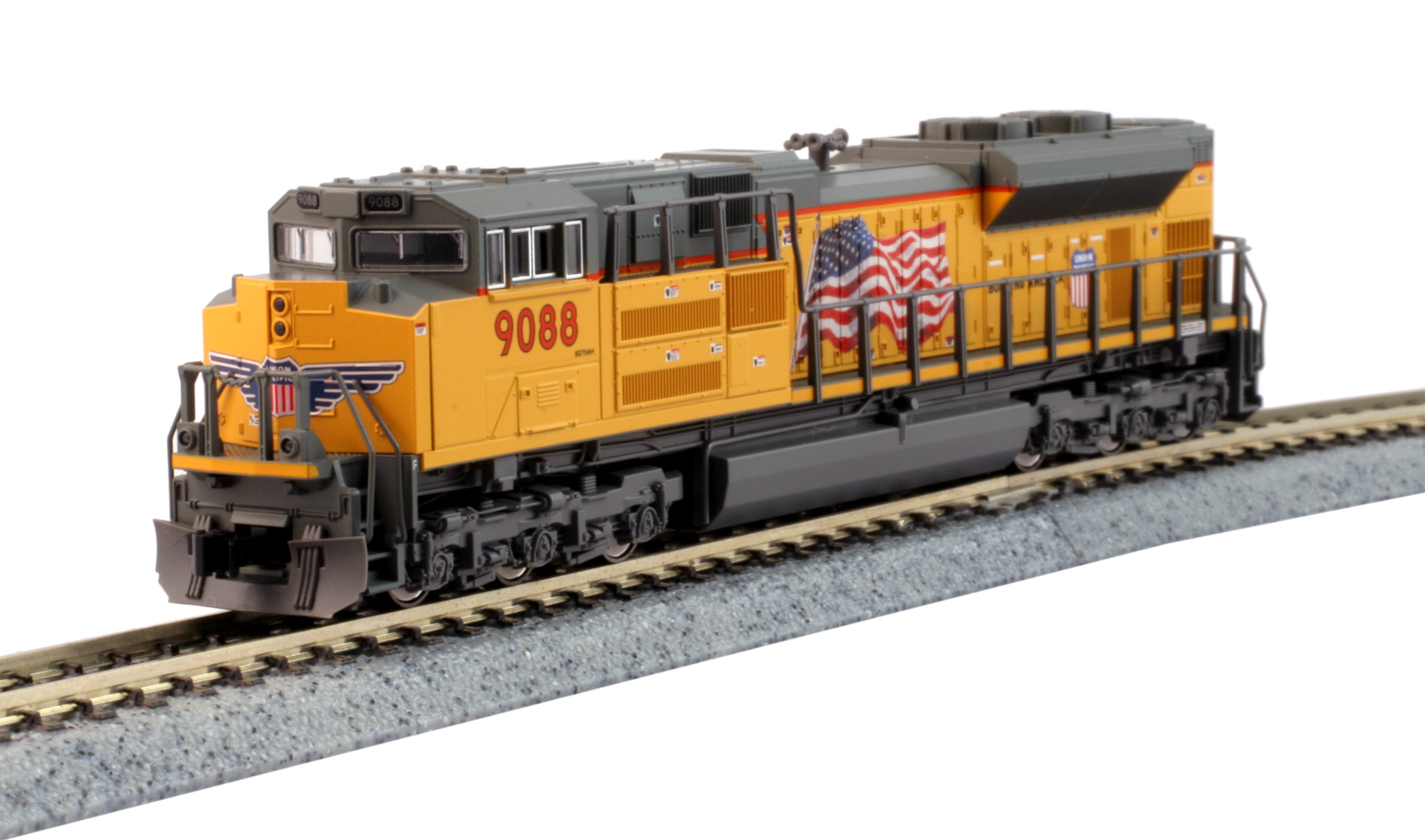KATO N EMD SD70ACe - Union Pacific #9088