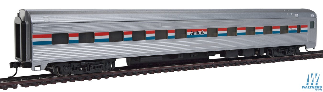 Walthers Mainline HO 85' Budd 10-6 Sleeper - Amtrak Phase III