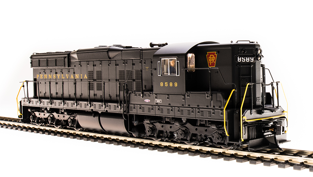 "Broadway Limited HO EMD SD7 ""PRR"" #8588 - DCC + Sound"