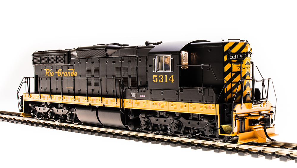 "Broadway Limited HO EMD SD9 ""DRGW"" #5412 - DCC + Sound"