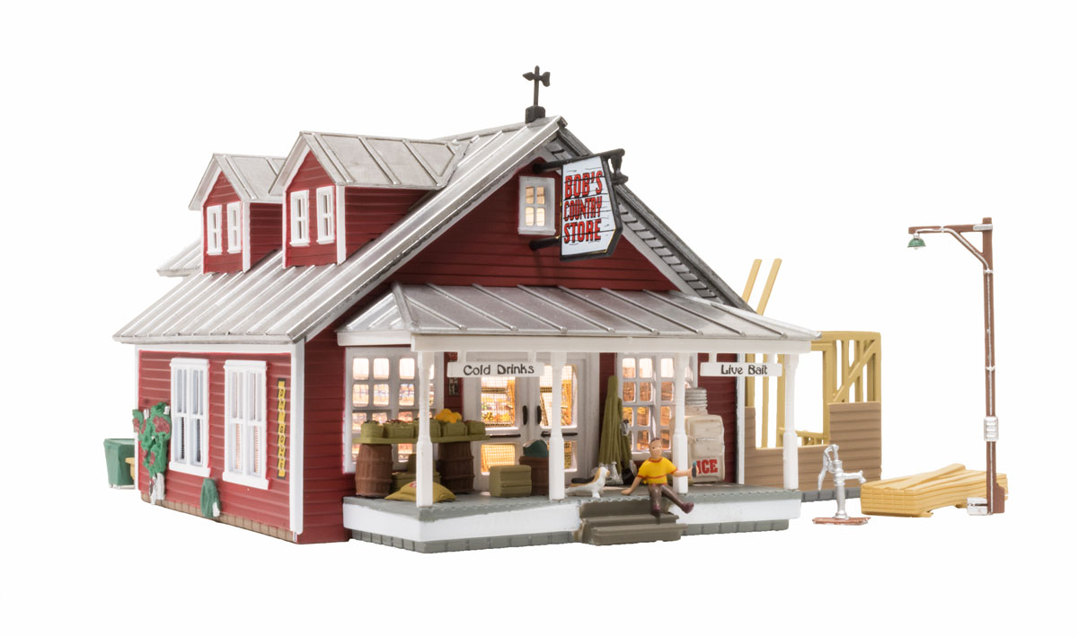 Woodland Scenics Country Store Expansion - HO Scale