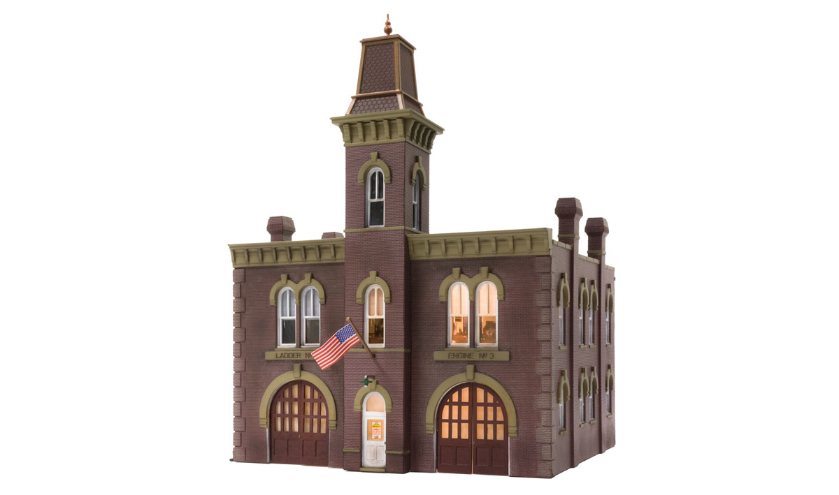 Woodland Scenics Firehouse - HO Scale