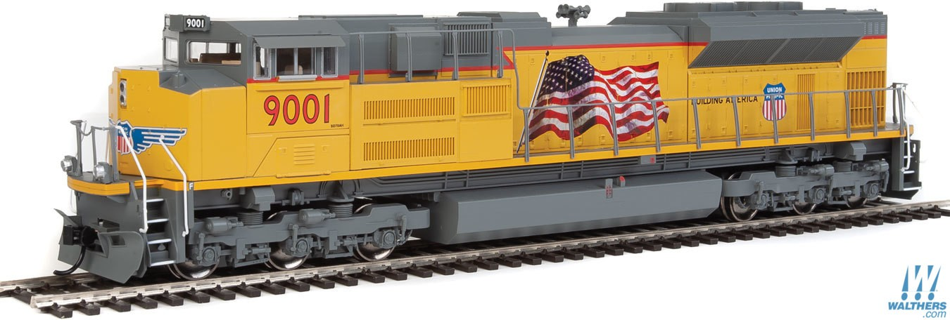 Walthers Mainline HO EMD SD70ACe -  Union Pacific(R) #9001