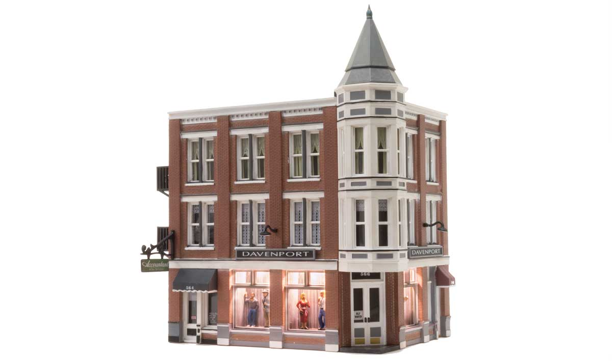 Woodland Scenics Davenport Department Store - HO Scale