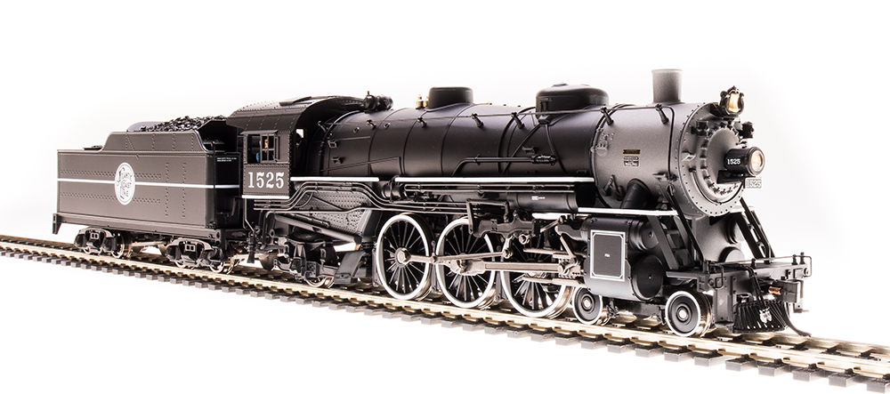 Broadway Limited HO Heavy Pacific 4-6-2, ACL 1525 - DCC + Sound