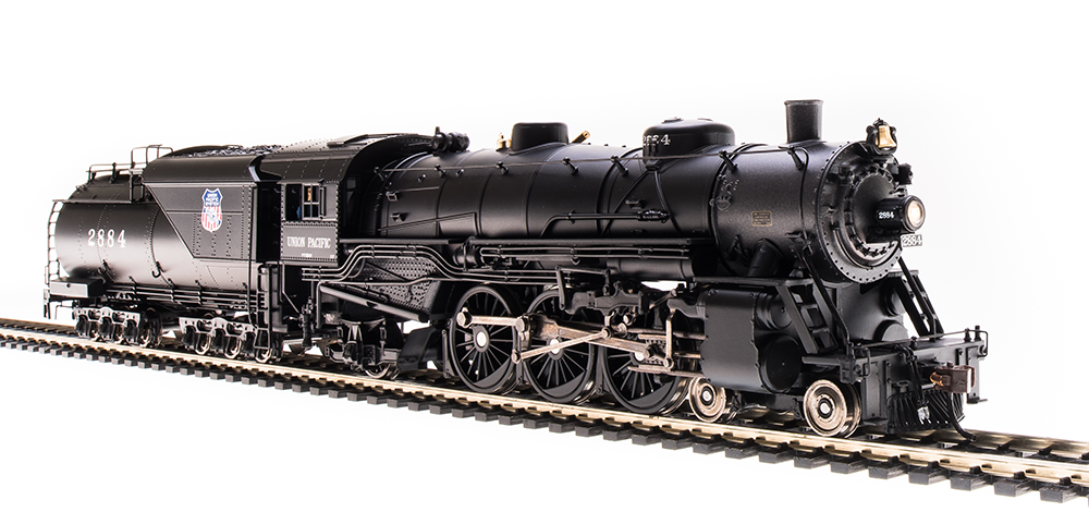 Broadway Limited HO Heavy Pacific 4-6-2, UP #2884 - DCC + Sound