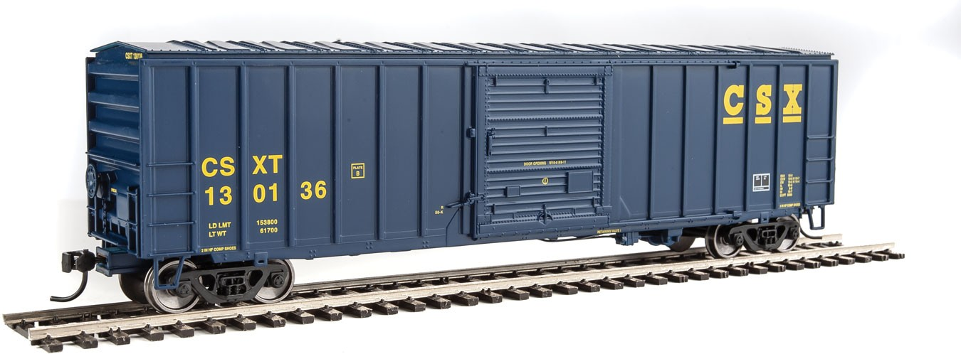 Walthers Mainline HO 50' ACF Exterior Post Boxcar - CSX Transportation #130136