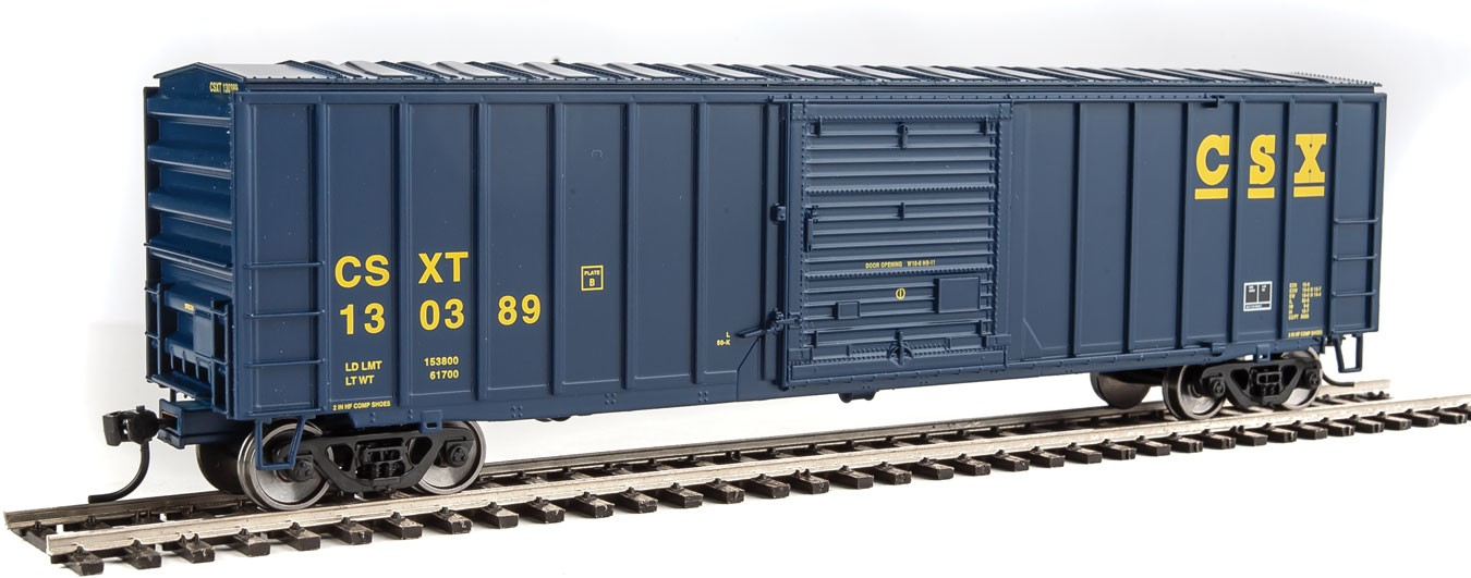 Walthers Mainline HO 50' ACF Exterior Post Boxcar - CSX Transportation #130389