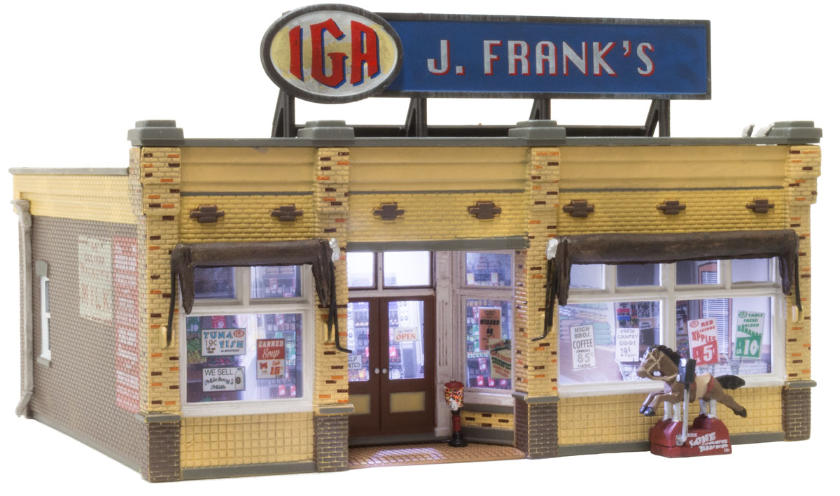 Woodland Scenics J. Frank's Grocery - HO Scale