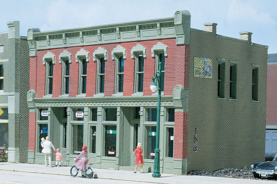 Woodland Scenics Front Street Building - HO Scale Kit