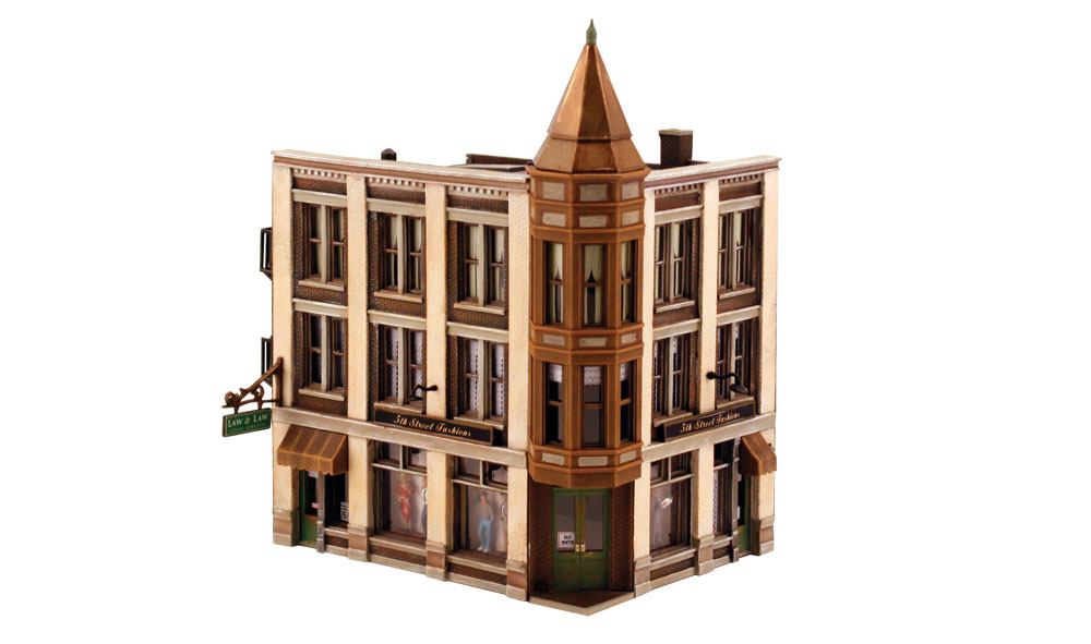 Woodland Scenics Corner Department Store - HO Scale Kit