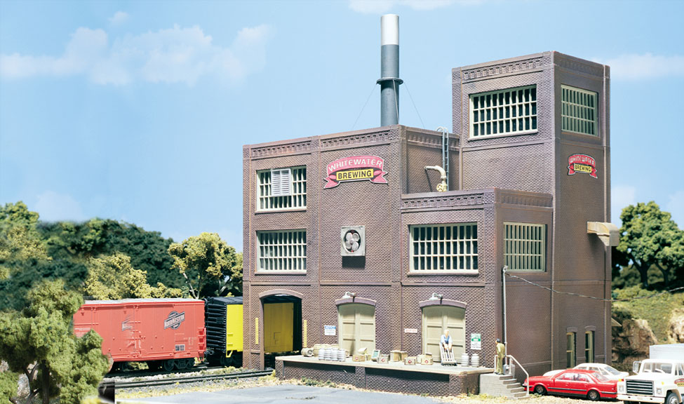 Woodland Scenics Whitewater Brewing - HO Scale Kit