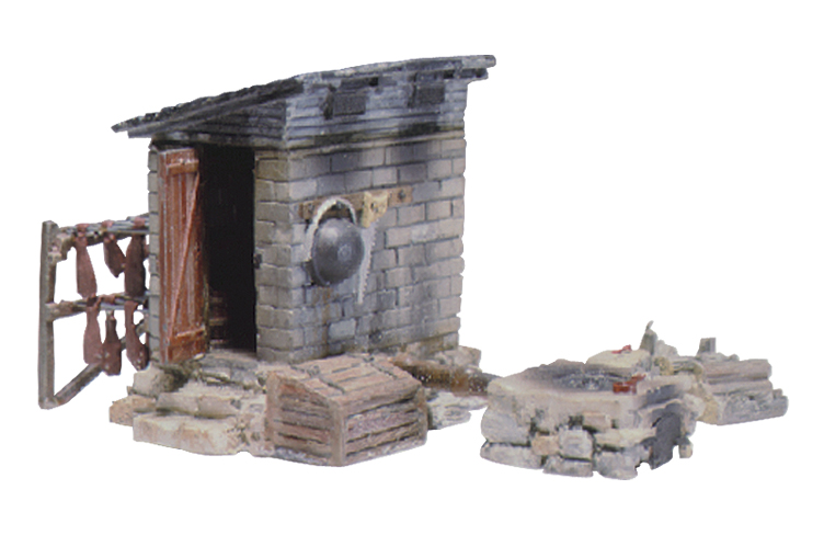 Woodland Scenics Smokehouse - HO Scale Kit