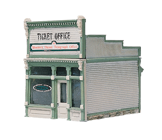 Woodland Scenics Ticket Office - HO Scale Kit