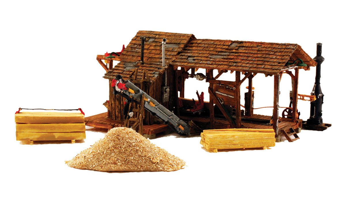 Woodland Scenics Buzz's Sawmill - HO Scale Kit