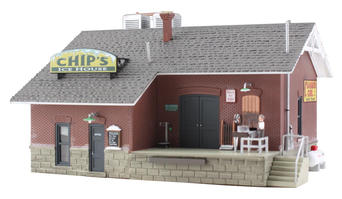 Woodland Scenics Chip's Ice House - N Scale