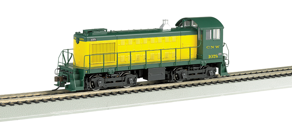 Bachmann HO Alco S4 - C&NW™ #1078 - DCC + Sound
