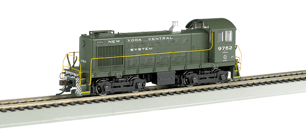 Bachmann HO Alco S4 - NYC System P & LE #9762 - DCC + Sound