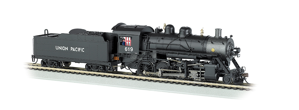 Bachmann HO Baldwin 2-8-0 Consolidation -Union Pacific® # 619 - DCC