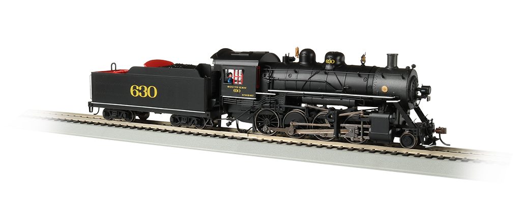 Bachmann HO Baldwin 2-8-0 Consolidation - Southern #630 - DCC + Sound
